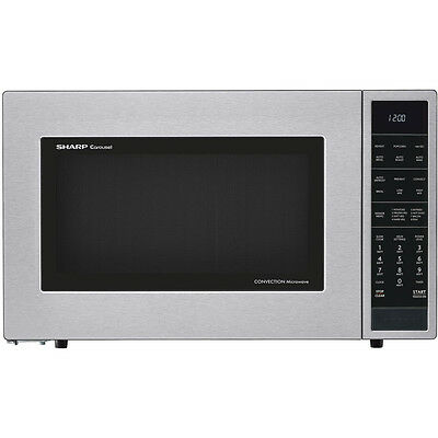 1.5 Cu. Ft. 900W Convection Microwave Oven, Stainless Steel