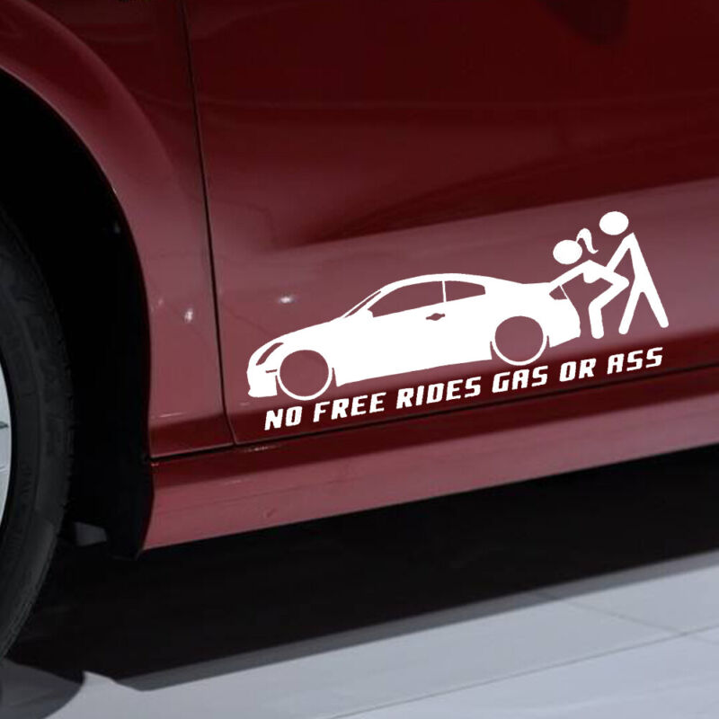 get off my ass before i give your car a fa  truck sticker vinyl funny car decal
