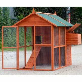 XXLARGE Chicken Coop Rabbit Guinea Pig Hutch Ferret Chook House