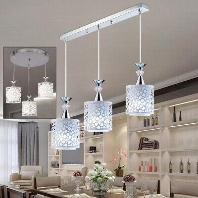 Modern Petal Ceiling 3 Lights LED Pendant Lamp Dining Room Chandelier -