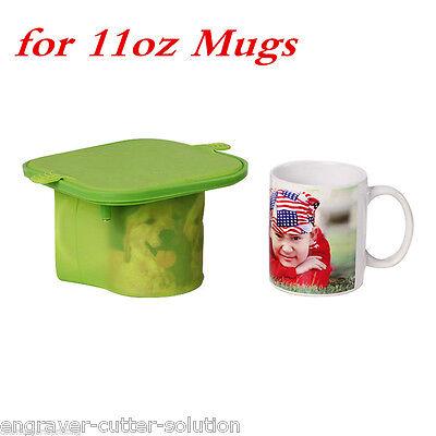 3d Sublimation 11oz Mugs Silicone Mold Mug Clamp For Heat Transfer Printing