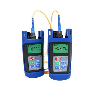 Fiber Optic Tester Tool T25m Optical Power Meter T15m Optic Fiber Light Source