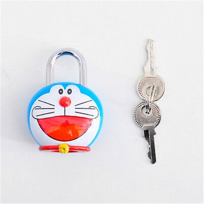 Cartoon Figure Shipping Container Garage Anti-theft Lock Padlock With 2 Keys
