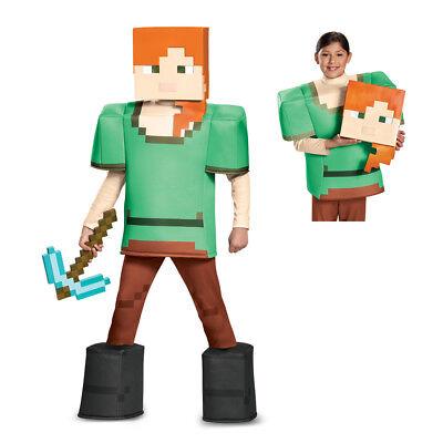 Girls Minecraft Alex Prestige Halloween Costume - Minecraft Girl Costumes