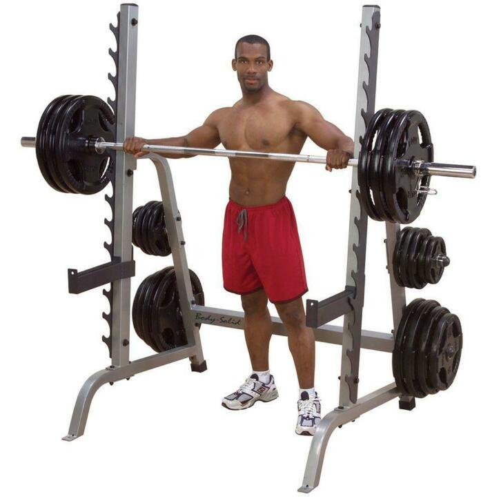 5a4ddcf9853 Body-Solid Multi Press Squat Rack | 2dehands.be
