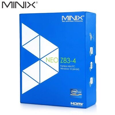 MINIX Neo Z83-4 Fanless Mini PC Windows 10 4GB Quad Core Streaming Media Player