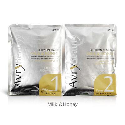Avry Jelly Spa Pedicure Foot Bath | Milk & Honey 30 Sets ()