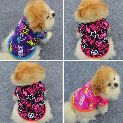New Fashion Various Pet Clothing CoatSmall  Puppy Dog Cat Vest T Shirt Apparel