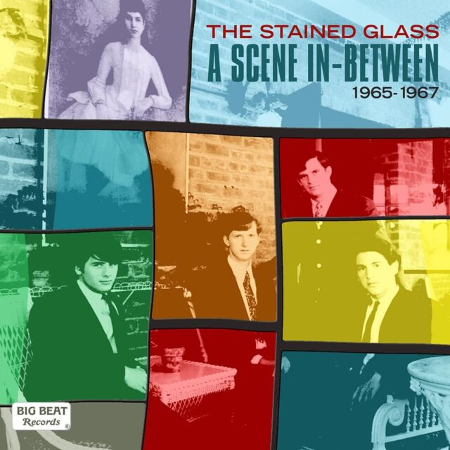 The Stained Glass - A Scene In-Between 1965-1967 (CDLUX 014)