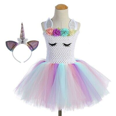 Outfits For Girl (Unicorn Tutu Dress for Girls , Unicorn Costume Outfit with)
