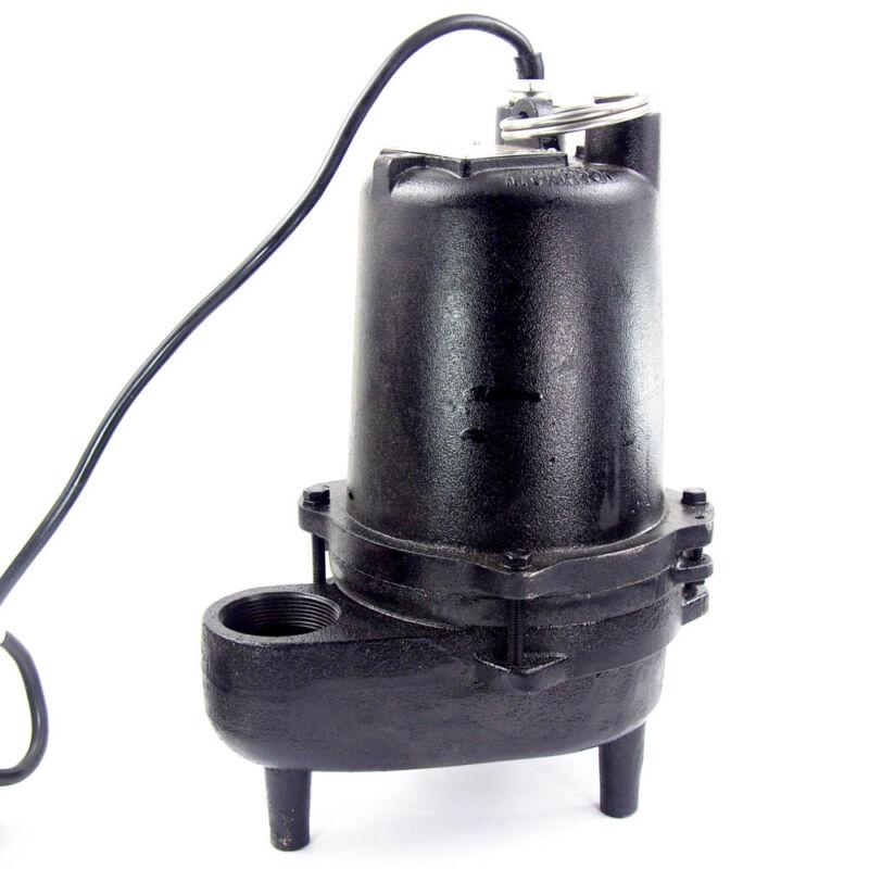 Dayton 4HU79 Submersible Sewage Pump 4/10 HP Manual 120V