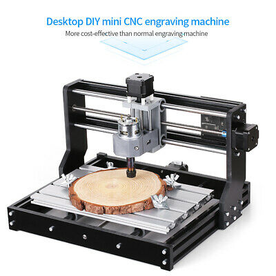 Cnc3018 Pro Diy Router Kit Engraving Milling Machine Grbl Control 3 Axis Collet