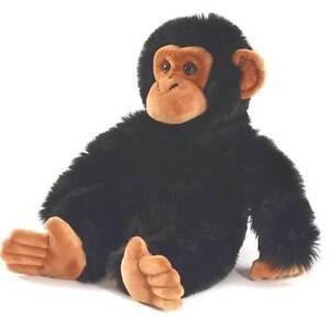 Chimpanzee 30cm Chimp Plush Soft Toy Ape by Keel Toys. Toy Monkey