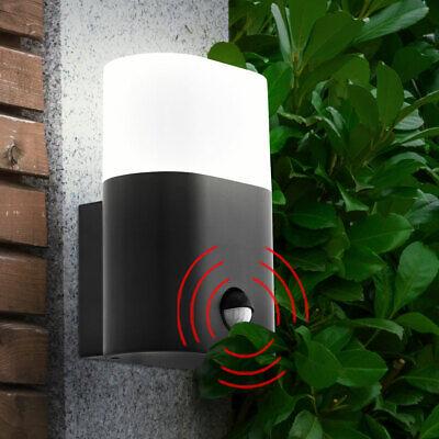 LED Exterior Casa Luz de Pared Puerta Entrada Garajes Hof Movimiento Lámpara