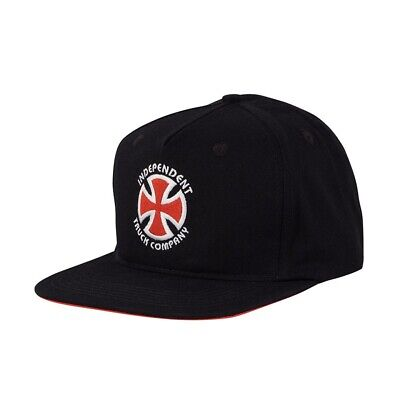 8b6b0dc83b689 Independent Trucks STAGE UNSTRUCTURED LOW Skateboard Strapback Hat BLACK