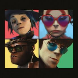 Gorillaz 29th of November, 2 Standing Area tickets
