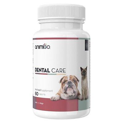 Natural Cat & Dog Dental Care Tablets - Pet Health Care Supplies - Animigo
