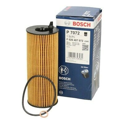 Bosch F026407072 P7072 - Engine Oil Filter - fits BMW 11427807177 11427805707