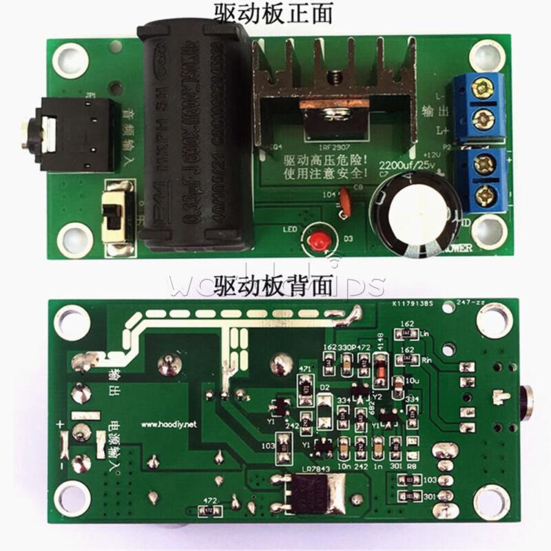 High Voltage Generator 20KV ZVS Tesla Driver Plate Parts Board Module DIY Kit