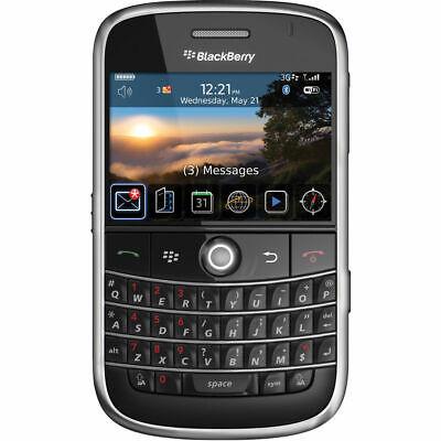 BlackBerry Bold 9000 - Black (Unlocked) GSM 3G Qwerty Keyboard Camera Smartphone
