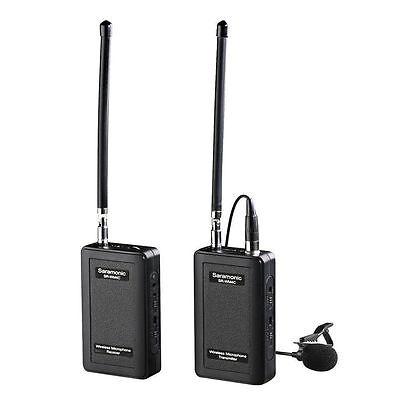 Saramonic SR-WM4C schnurloses 4 Kanal VHF Mikrofon System DSLR Kamera