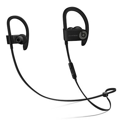 Beats by Dr. Dre Powerbeats 3 Wireless Headphones Black ML8V2LL/A ..