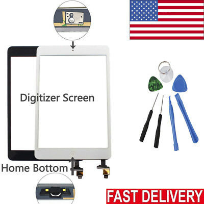 Digitizer Glass Touch Screen Replacement For Apple iPad 2 3 4 Air 1 mini 1 2