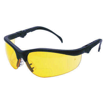 Mcr Safety K3h15a Bifocal Safety Read Glasses1.50amber