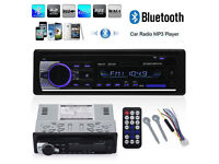 Brand New Boxed Bluetooth-Car-Radio-Stereo-Head-Unit, Mobile Phone Hands Free Calls Bargain @ £28.00
