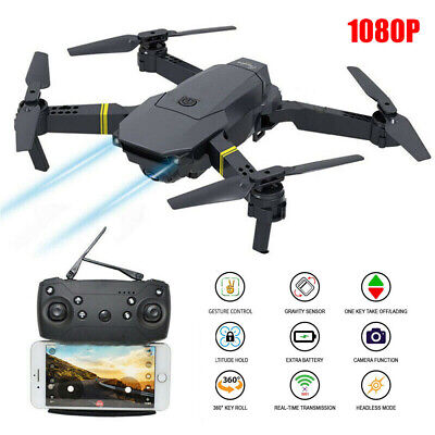 S168 FPV Wifi HD Camera Drone 1080P/4K Aircraft Foldable Quadcopter Selfie GPS