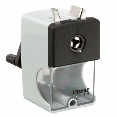 Dahle 155 Manual Pencil Sharpener With High-quality Steel Cutters And Adjustable