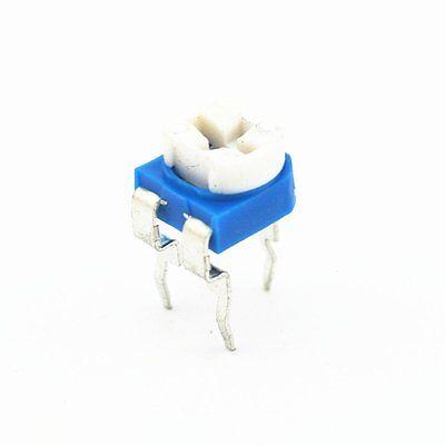 100pcs 100k Ohm Trimmer Trim Pot Variable Resistor Potentiometer 6mm Rm065 104