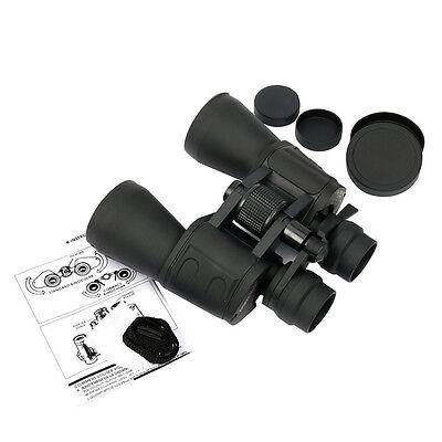 NEW 10x-180x100 Zoom Binoculars Telescope Day Night Vision Travel Hunt + Case