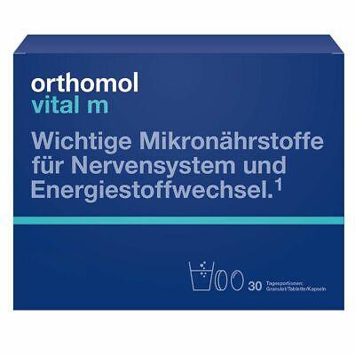 Orthomol Vital M Granulado/Cápsulas, 30 Porciones Diarias, 1319838