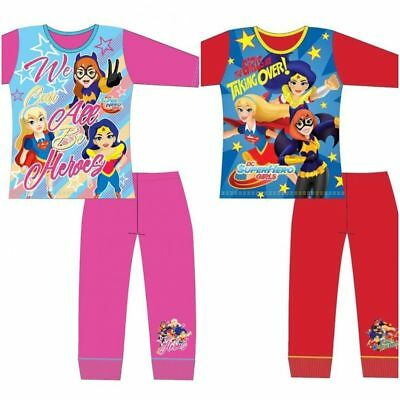 ids Superhero Pyjamas Supergirl Wonder Woman Batgirl 4-10YRS (Kid Pjs)