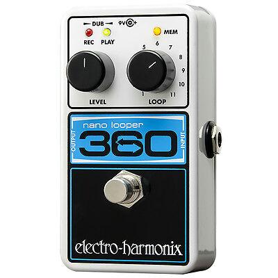 Electro-Harmonix Nano 360 Compact Looper Guitar Effect Pedal