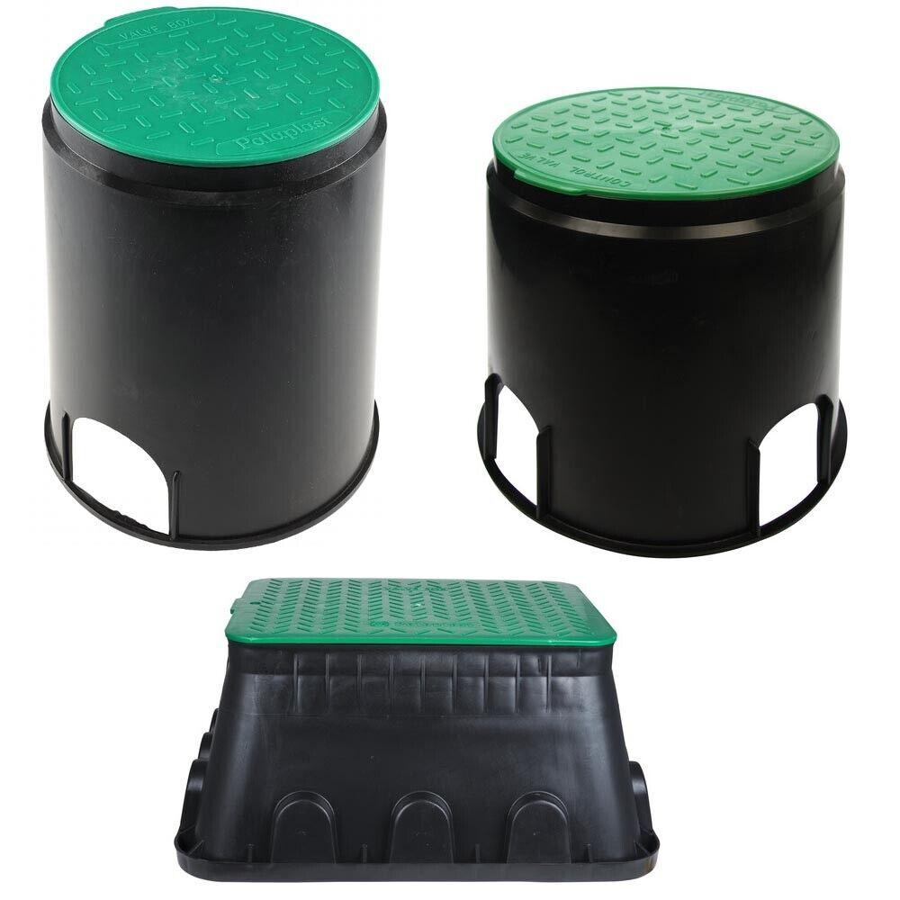 Bodeneinbaudose Ventilbox Verteilerdose unterirdisch Gartenverteiler Trafo Box