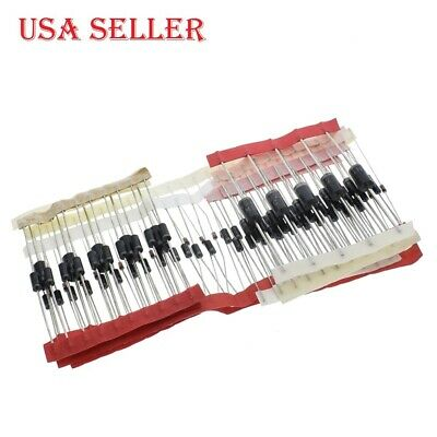 100pcslot Fast Switching Schottky Diode Rectifier Diode Kit Set 8 Type Pack