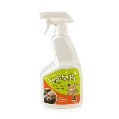 Pet Stain and Urine Remover Odour 750ml Spray Tough Carpet Fabric Wood Dog Smell
