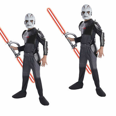 Jungen Kinder Star Wars Rebellen der Inquisitor Deluxe - Kinder Star Outfit