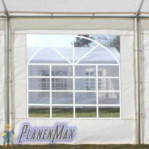 Seitenteil Plane 2x2m für Partyzelt Pavillon Sonnenschutz Windschutz Ersatz PE
