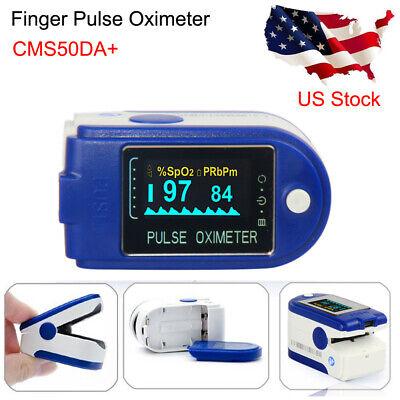 Contec Cms50da Fingertip Pulse Oximeter Blood Oxygen Spo2 Sensor Pc Software Fda