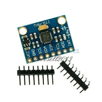 2pcs Mpu-6050 Module 3 Axis Gyroscopeaccelerometer Module For Arduino Mpu 6050
