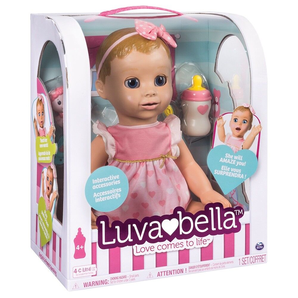 Luvabella Blonde Interactive Toy Doll BNIB