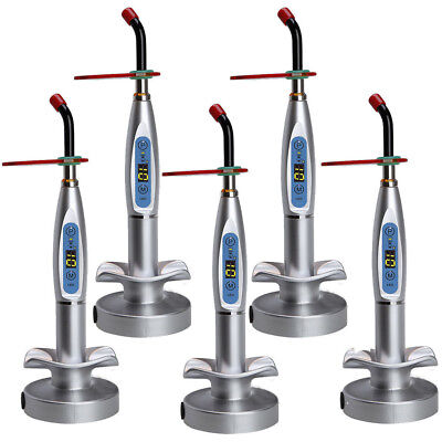 Usa Dental 10w Wireless Cordless Led Curing Light Lamp 2000mw Tool Us Fast Ship