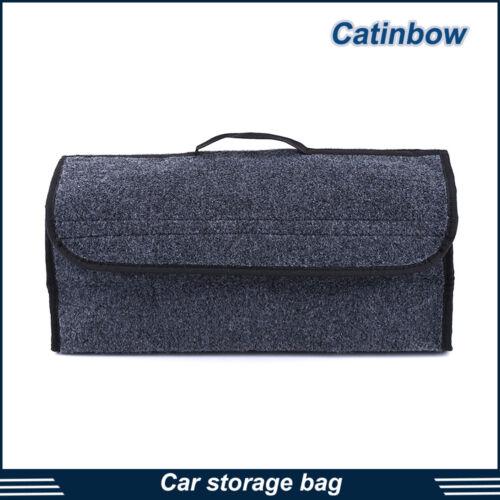 Car Trunk Cargo Organizer Folding Caddy Storage Collapse Bag Bin for Truck SUV