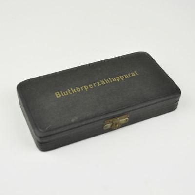 Incomplete Blutkörperzählapparat - Old Box - Vintage Haemacytometer