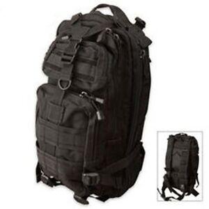Condor Compact Assault Pack Black  126-002