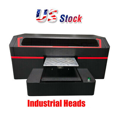 High Quality Single Station Direct To Garment Printer 8 Industrial Heads