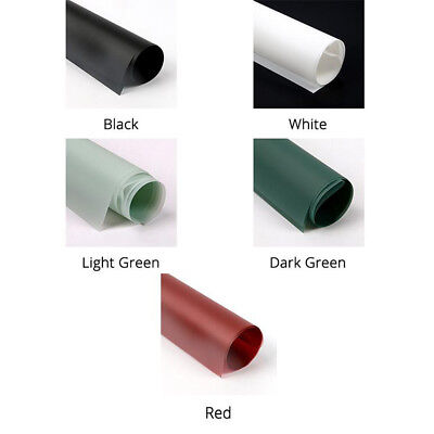 Solid Color Wrapping Paper (HOUSEWARMING 20 Sheets Solid 5 Colors Wrapping Papers for Flower Bouquets )